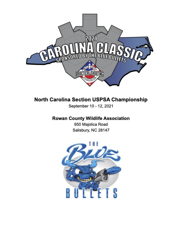 2021 Carolina Classic Match Book1